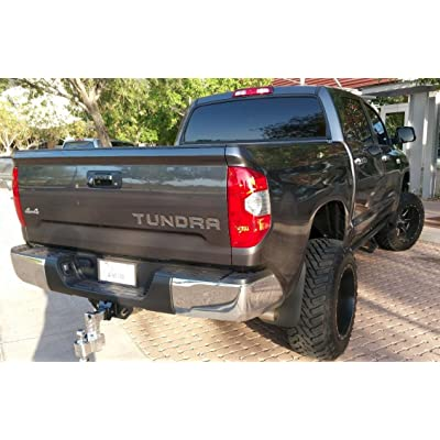 BDTrims Tailgate Raised Letters Compatible with 2014-2020 Tundra Models (Chrome): Automotive