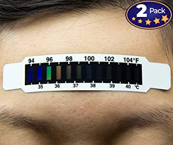thermometer Forehead strip