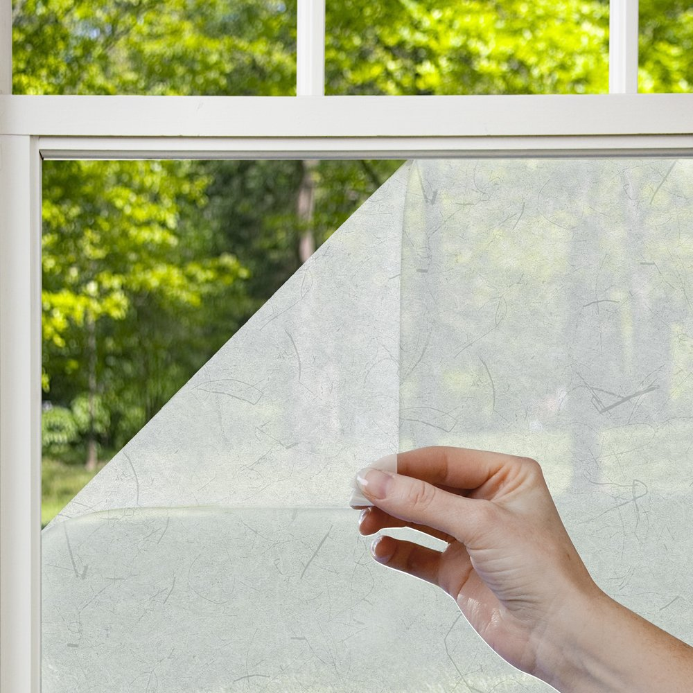 Gila Window Films PRP78 Privacy Residential Window Film, Rice Paper, 36-Inch by 6-1/2-Feet
