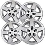Hub-Caps for Select Chevrolet Malibu (Pack of 4) 17 Inch Silver Wheel Covers