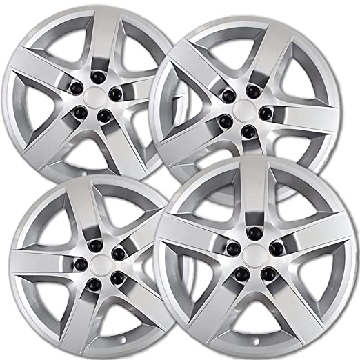 amazon oxgord hub caps for 08 13 chevrolet malibu pack of 4 1932 Chevy Tailgate amazon oxgord hub caps for 08 13 chevrolet malibu pack of 4 wheel covers 17 inch snap on silver automotive