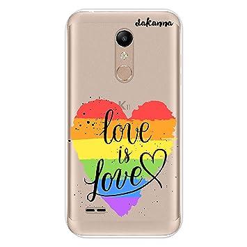 dakanna Funda para LG K11 - K10 2018 | LGBT Corazón Frase ...