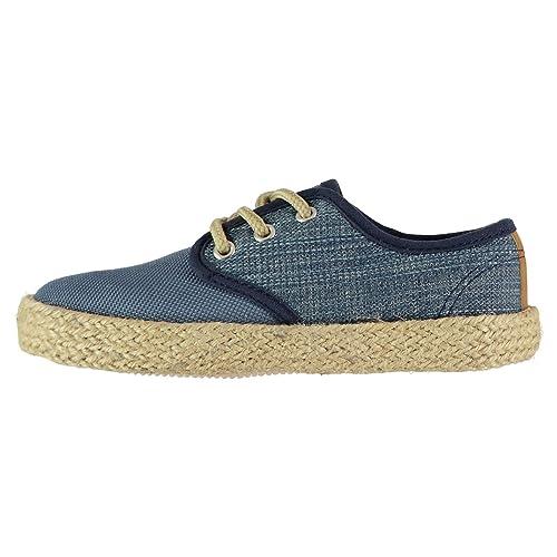 Soulcal Niños Alpargatas Lace Zapatillas De Lona: Amazon.es: Zapatos y complementos