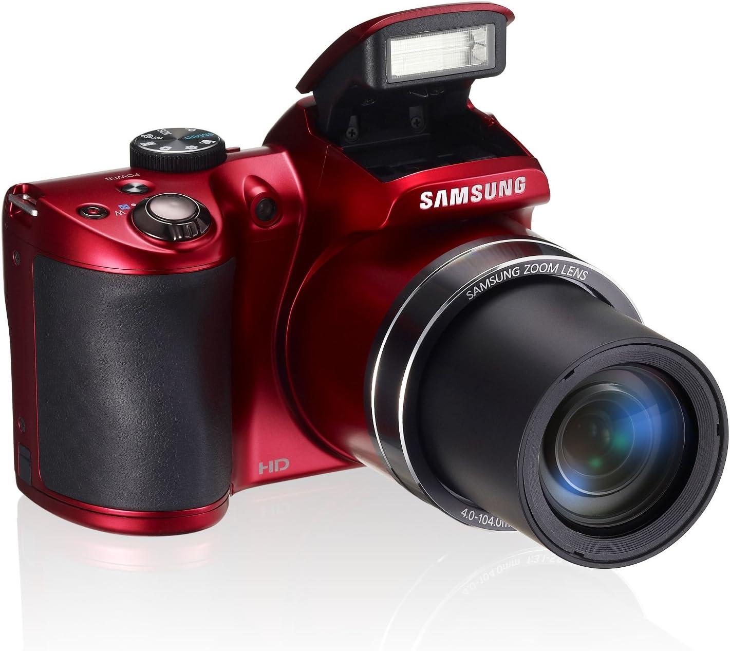 Samsung WB 100 Cámara compacta 16.2MP CCD 4608 x 3456Pixeles Negro ...