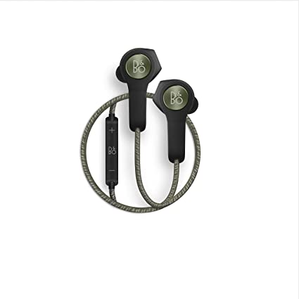 145b8c74f09 Amazon.com: Bang & Olufsen Beoplay H5 Wireless Bluetooth Earbuds - Moss  Green: Electronics
