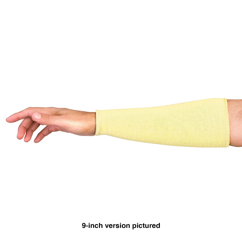 "Superior KKWC9 Kevlar Double Folded Knit Stockinette Sleeve, 9"" Length (Pack of 1 Pair)"