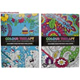 PMS 2AST 64PG A4 SIZE COL THERAPY COLOURING BOOK .36CDU