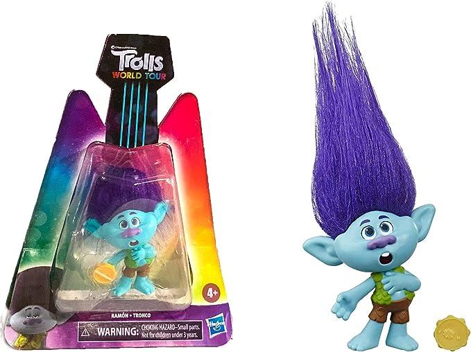 Mermaid-choisir! DreamWorks Trolls World Tour figures-Poppy Branch Barb Tiny