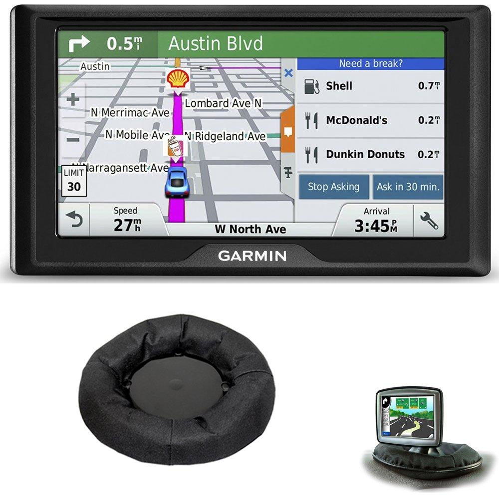Drive 60LM GPS Navigator (US) - 010-01533-0C Bundle with Nav-Mat Portable GPS Dash Mount by Beach Camera