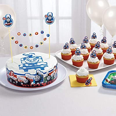 amscan Thomas The Train All Aboard Cake Decorating Kit: Toys & Games