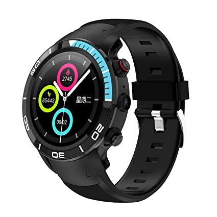SZHAIYU Smart Watch 4G Llamada de Red Android 7.1 RAM 1GB ROM 16GB ...