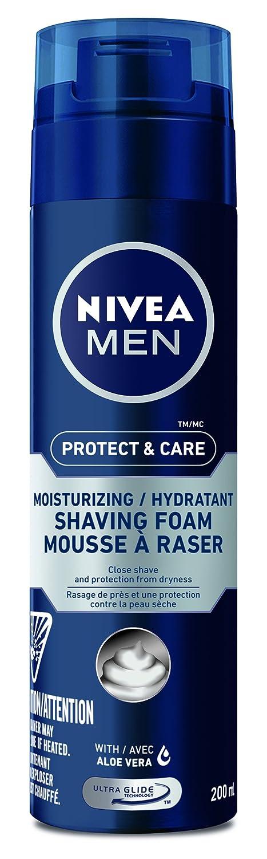 NIVEA MEN Senstive Skin Shaving Foam, 200 mL 056594817203