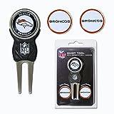 Team Golf NFL Denver Broncos Divot Tool with 3 Golf