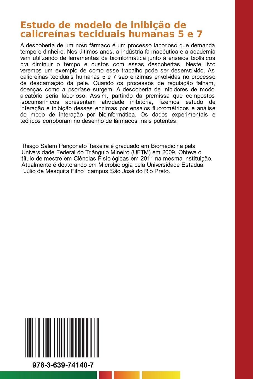 Estudo de modelo de inibição de calicreínas teciduais ...