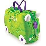 Trunki Children's Ride-On Suitcase: Trunkisaurus Rex (Green)