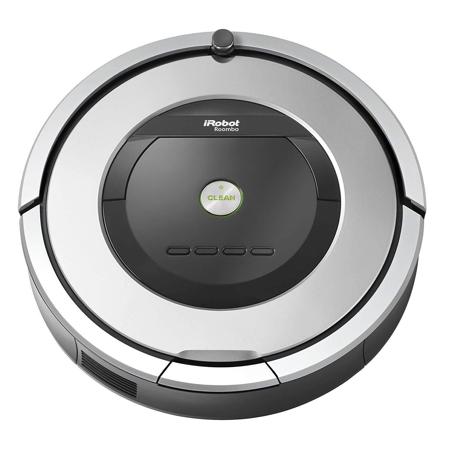 iRobot Roomba 860 Robotic Vacuum with Virtual Wall Barrier and Scheduling Feature (Certified Refurbished)