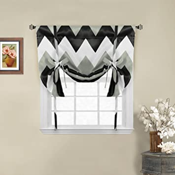 large curtains htm x by curtain bookmark chevron of black white pair sewpanache and bold