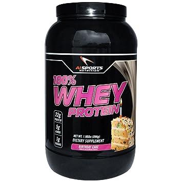 100 Whey Birthday Cake Protein Powder By AI Sports Nutrition