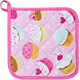 Kitchen Style by Now Designs Potholders, Cupcakes, Set of 2
