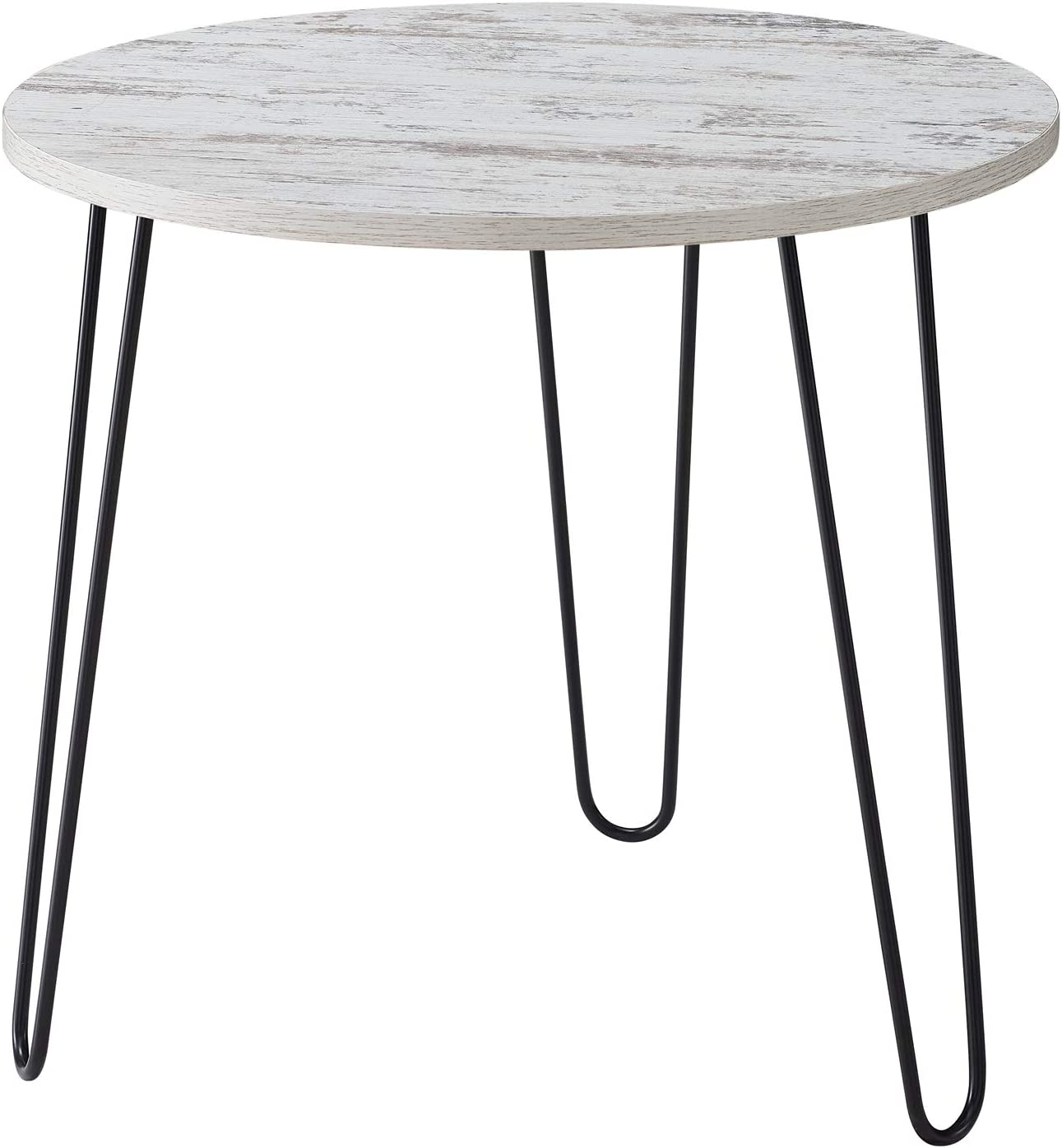 Classic Brands A01132-1352 Asher End Table Without Tray-Distressed White