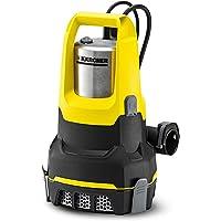Kärcher vlakzuigende dompelpomp SP 6 Flat Inox, pompt tot 1 mm dweildroog (550 W, max. 14000 l/u, restwaterhoogte: 1 mm…