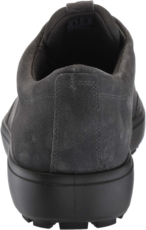 ECCO Mens Soft 7 Tred GTX Tie, Basket Homme Aimant Gris 50869
