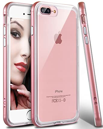 IPhone 8 Plus Case 7 Ansiwee Reinforced Frame Crystal Slim Highly
