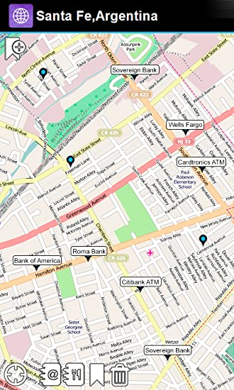 Amazon.com: Santa Fe,Argentina Offline Map - Smart Sulutions ...