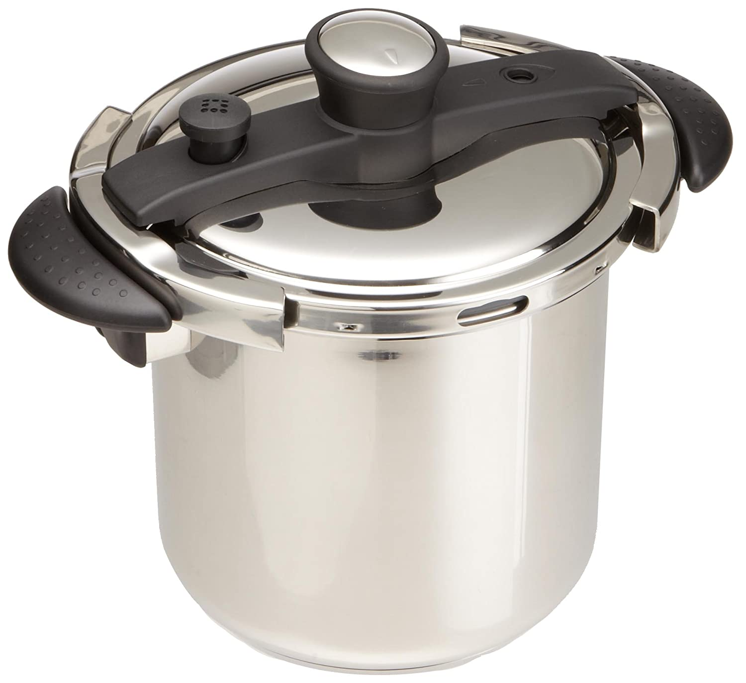 Amazon Concord Cookware Stainless Steel Pressure Cooker 8 Quart Kitchen Dining