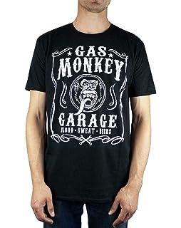 Gas Monkey Garage GMG Tyres Parts Service T-Shirt Homme