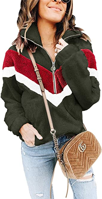 Happy Labor Day Womens Jacket Pullover Tops Pocket Hoodie Coats