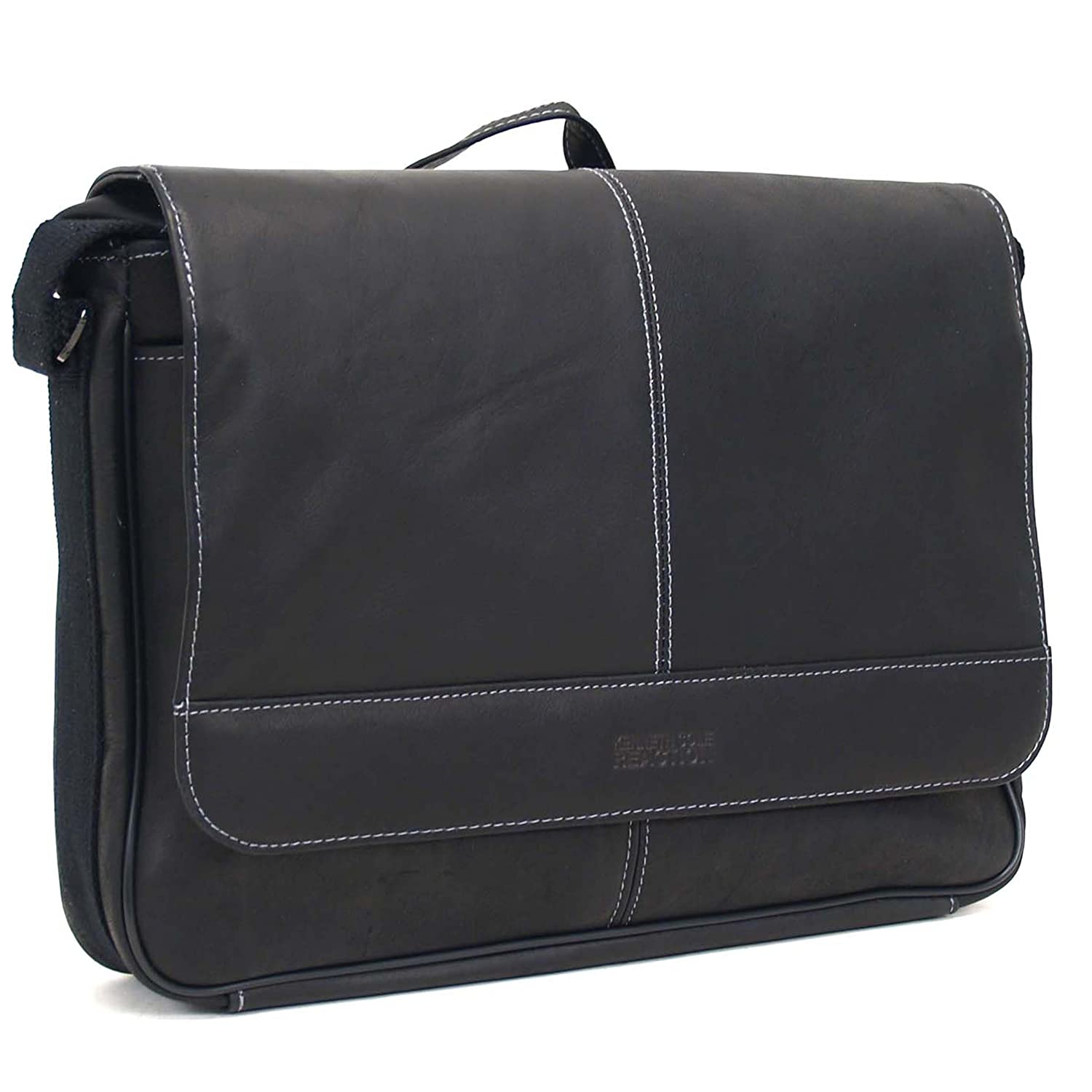 Amazon.com | Kenneth Cole Risky Business Messenger Bag, Black, One ...