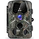 Victure Wildlife Camera Infrared Night Vision 120°Wide Angle Motion Activated 12MP 1080P Full HD Outdoor Nature Garden Home Security Surveillance
