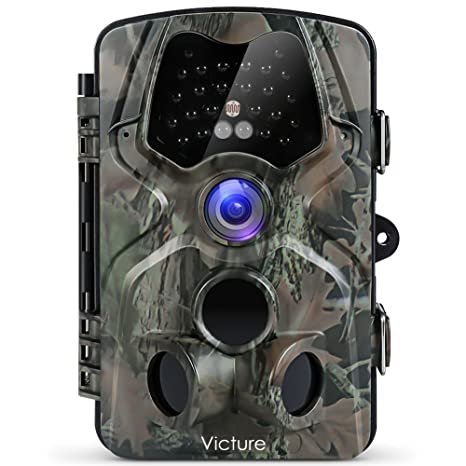e7f554429b1f6 Victure Trail Camera with Night Vision Motion Activated Waterproof 12MP  1080P Game Camera with 120°View for Wildlife and Home Surveillance
