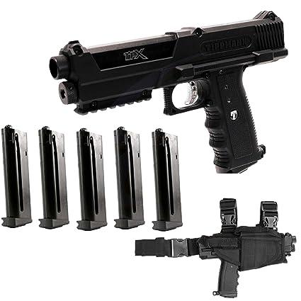 Amazon Com Tippmann Tipx Paintball Marker Pistol Gta Holster 2