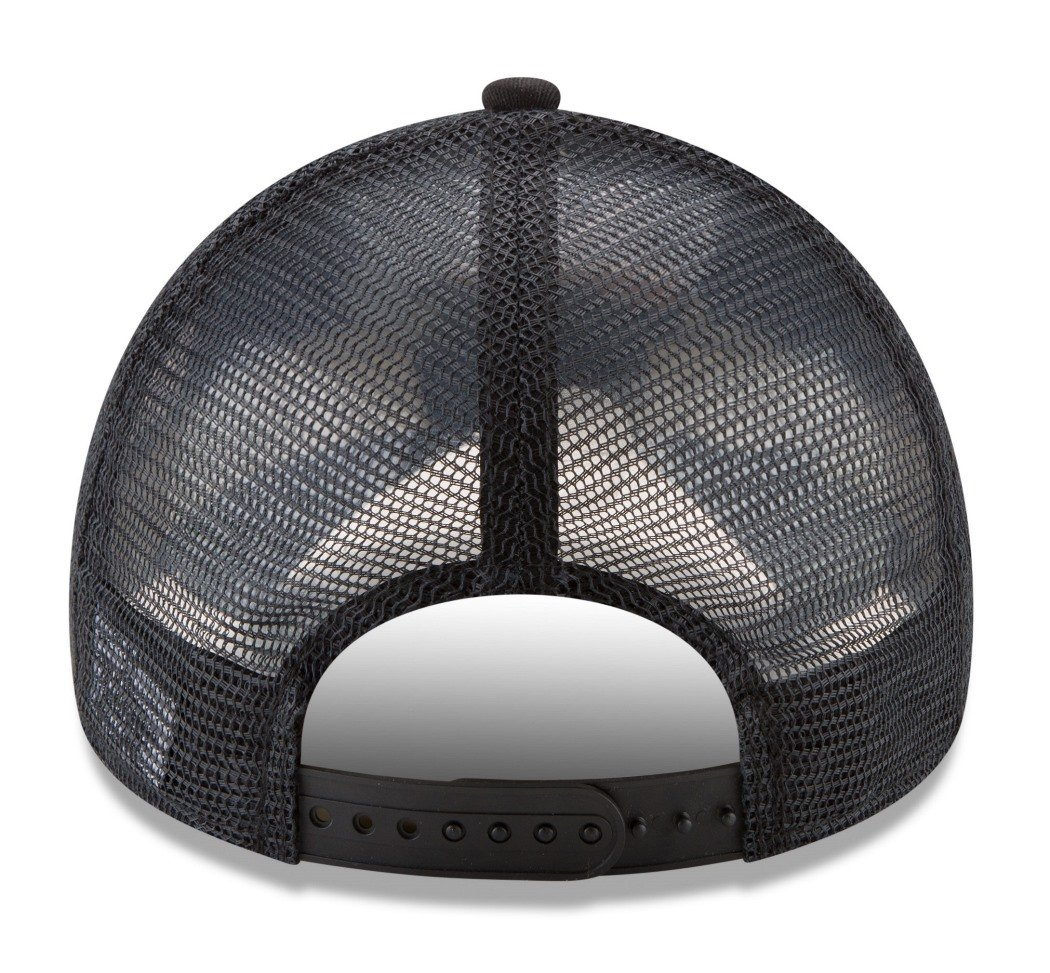 Unica-55,8-60,6cm New Era 80470745 Cappellino da Baseball Uomo Nero Taglia Unica