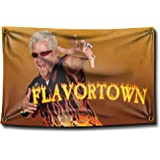 Banger - Guy Fieri Flavortown 3x5 Feet Flag Banner Wall Tapestry for College Dorm or Man Cave
