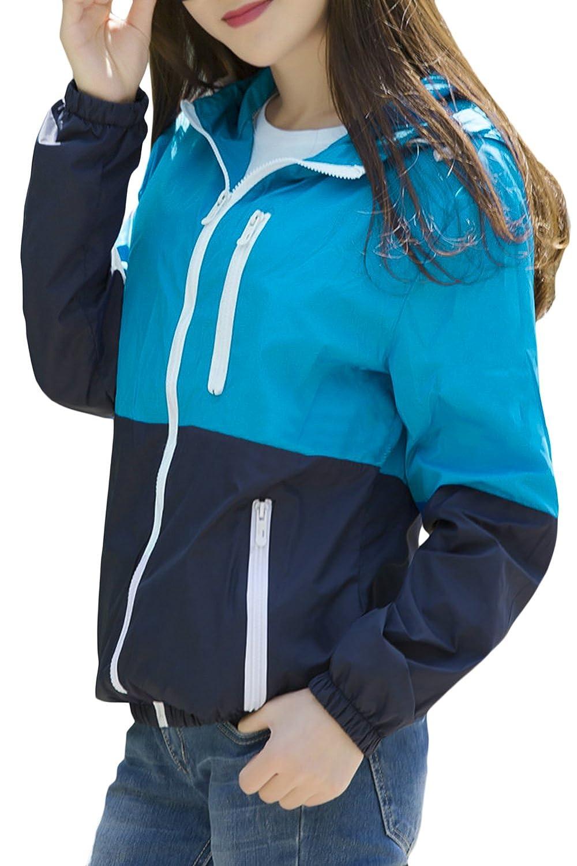 Womens Sun Protect Outdoor Jacket Quick Dry Windproof Water Repellent/Coat