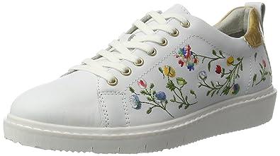 Tamaris Sneaker, mit Blumenstickerei, schwarz, 41 41