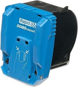 Rapid 5080e Replacement Staple Cartridge, 5,000 Staples, 1/Box