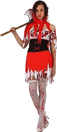 Atosa - Disfraz de Caperucita Roja Terror para mujer, talla M (44-46 ...