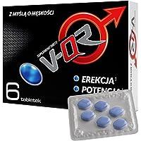VQR - per uomini attivi - Alternativa per la potenza - 6 compresse - Originale della Polonia