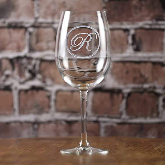 Engraved Wine Glasses