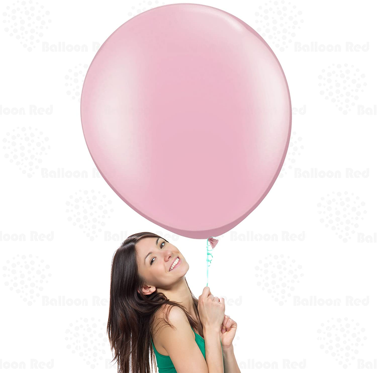 """3ft HUGE 36/"""" Clear Qualatex Latex Balloon Party Decoration Birthday Wedding Baby"""