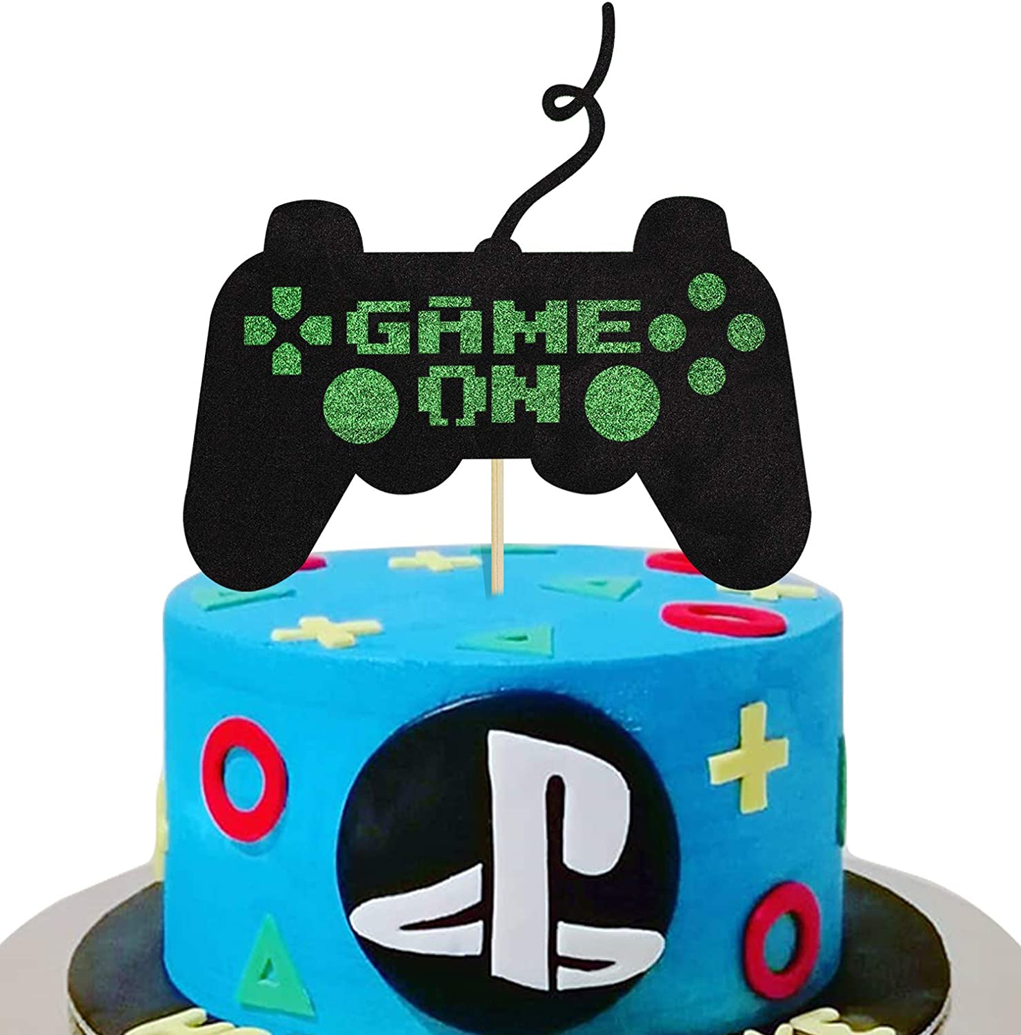 Kapokku Game On Cake Topper Game Themed Birthday Party Supplies Fortnite Video Game Cake Ddecorations For Boys Amazon Com Grocery Gourmet Food Fortnite's 1st birthday challenges are now live! kapokku game on cake topper game themed birthday party supplies fortnite video game cake ddecorations for boys