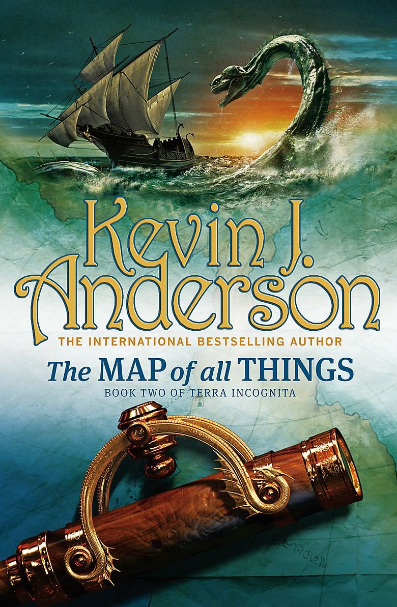 The Map Of All Things: Book 2 of Terra Incognita pdf