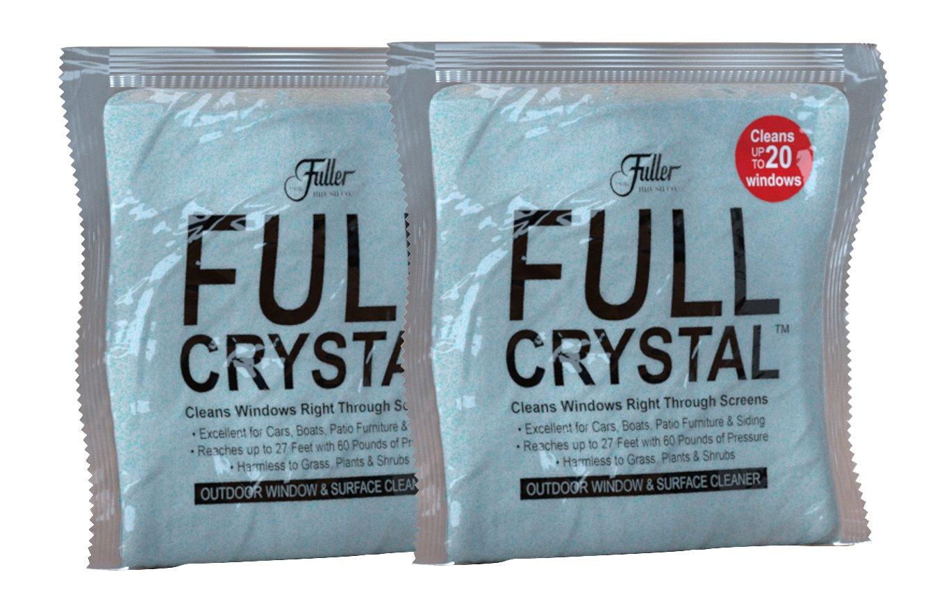 Fuller Brush 19586 Full Crystal Window Cleaner, 4oz, Red/Blue