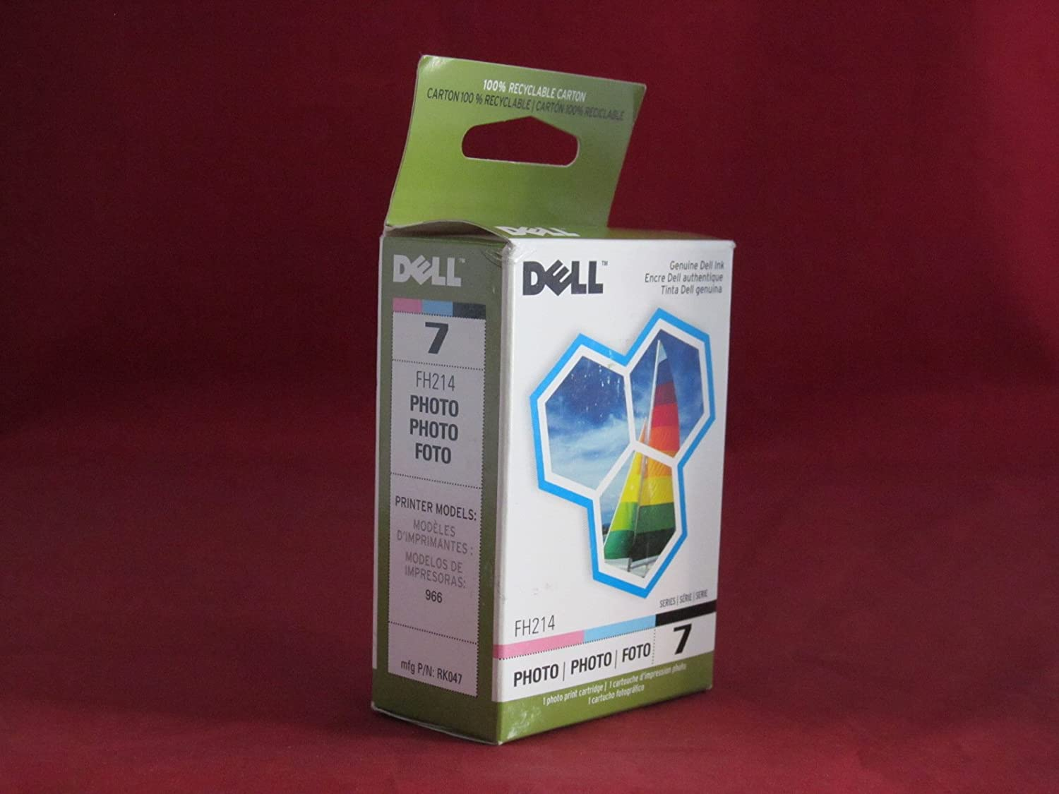 Amazon.com: Dell FH214 Toner Cartridge - Photo Color (FH214 ...