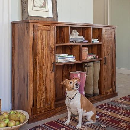 Naturehood Hallway / Living Room Storage Cabinet ✮100 % Sheesham ...