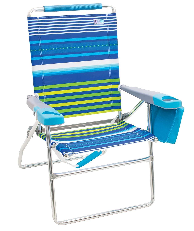Amazon.com: RIO Beach - Silla de playa plegable, 4 ...